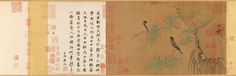 Zhao Ji: Finches in the Bamboo | Chinese Bird Painting | China Online Museum