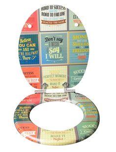 WC Sitz RETRO, mit Holzkern und Absenkautomatik - tolles Deko Highlight in Vintage Optik. Bietet Komfort und Funktion: Moderner, hochwertiger WC Sitz RETRO mit Holzkern (MDF) und Absenkautomatik (WC-Deckel und Sitz schließen sanft und geräuschlos) Pflegeleicht: die besonders feine Oberfläche von MDF- WC Sitzen ermöglicht eine einfache und hygienische Reinigung Flexibilität: Der Toilettensitz hat eine Standardgröße und ist für nahezu alle handelsüblichen WC-Becken passend | *werbung