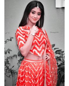 Shivangi Joshi Instagram, Lehnga Dress, Teen Celebrities, Dress Indian Style, Photo Poses, Girl Photography, Indian Actresses, Indian Fashion, Cute Couples