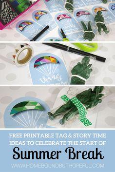 Summer Break Storytime | Read A Loud | Kid Lit | Free Printable | End of the School Year | Last Day, Hooray! by Nancy Poydar