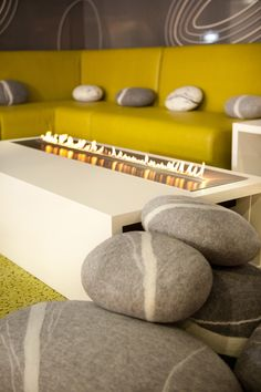#Fireplace by @Planika at the #INDEX Exhibition, located in #Dubai