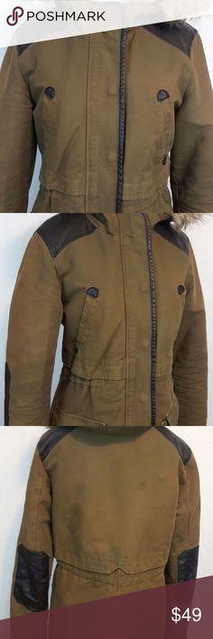 "Zara Trafaluc Outerwear Women Jacket Sz Medium Sleeve Length 22 1/2""  Pit to Pit - 18""  Top to Bottom Back - 30"" Zara Jackets & Coats Utility Jackets"