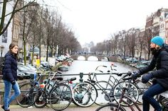 Some quick advice on renting a bike in Amsterdam and some tips on how the Dutch cycle, including how to stay safe while cycling in Amsterdam.