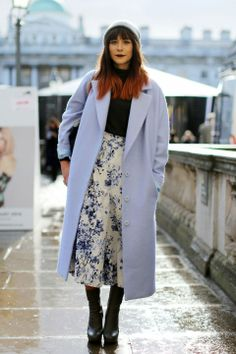 Street Style At London Fashion Week AW14