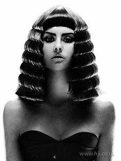 Image Detail for - 2008 avant garde Hair Style Picture - Egyptian Hairstyles, Wig Hairstyles, Pretty Hairstyles, Love Hair, Big Hair, Dreads, Pelo Editorial, Afro, Avant Garde Hair