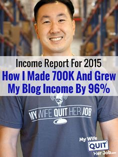 My wife just closed the books on my blog revenue for 2015 and it was an amazing year once again! If you recall, I started the year out strong by growing 122% year over year for the first half of 2015. But unfortunately, I couldn't maintain that same level of growth for the second half of the year. I tried my best but I would have had to go nuts and sacrifice my sanity in order to maintain that pace. All told though, I'm pretty happy with 96% year over year growth which means that my blog…