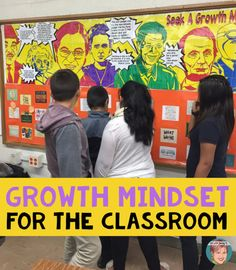 Growth Mindset for the classroom. Use my unique growth mindset collaboration posters to inspire your students and school community.