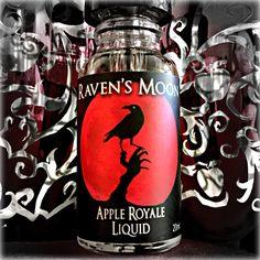 Raven's Moon Apple Royale E-liquid by Raven's Moon Vapor - visit us at Ravensmoonvapor.com