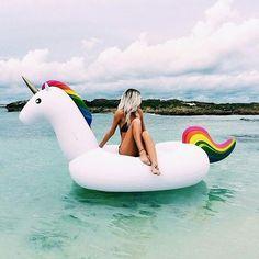 Imagem de unicorn, girl, and rubia