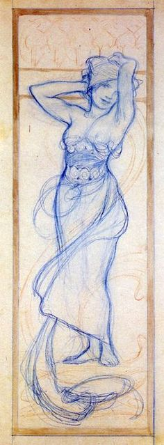 ART & ARTISTS: Alphonse Mucha - part 6                                                                                                                                                     Más