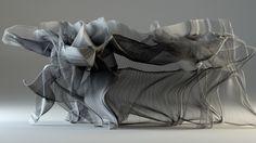 Le digital designer et artiste Tobias Gremmler est profondément inspiré par la dynamique du mouvement et la philosophie du Kung Fu. Pour l'exposition organisée par l'Association Guoshu International à Hong Kong, l'artiste a capturé les mouvements des maîtres Wong Yiu Kau et Li Shek Lin par balayage numérique pour mesurer chaque mouvement et sa vitesse. Le résultat est à la fois beau et surprenant, « Visualiser l'invisible est toujours fascinant » dit l'artiste.