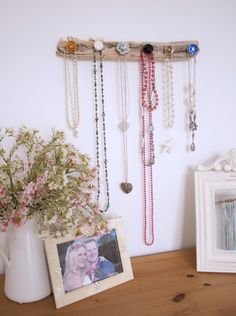 Driftwood Jewellery Hanger  by Driftwood Dreaming - available to buy here: http://www.driftwooddreaming.co.uk/product/driftwood-jewellery-hanger/