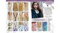 Handmade Lariat Necklace's - Glam Catalogue Spring 2014.