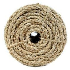 Koch Industries Twisted Polypropylene Rope 1//4 Inch by 50 Feet Tan Coil