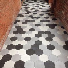 Clare Cousins Architect. Love the tiles.