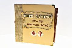album camino de santiago scrapbooking www.beautypeonia.com