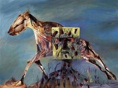 Sidney Nolan - Kelly Australian Painters, Australian Artists, Sidney Nolan, Victoria Art, Ned Kelly, Horse Art, Cool Artwork, Impressionism, Art History