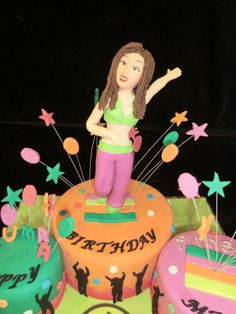 Best Zumba birthday cake I have ever seen!!