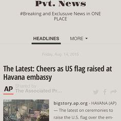 #Cuba Pvt. News is OUT  http://ift.tt/1CeNjph #PvtNews Or Google #PvtNews