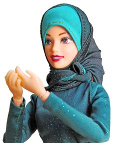 Muslimah Barbie making dua #muslim #hijab