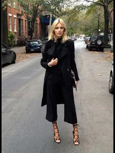 Anja Rubnick- Paris Fashion week SS'13