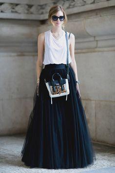 Street style на недле моды в Париже