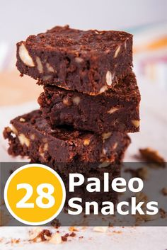 28 of the Most Scrumptious, mouth watering #Paleo Snacks Ever! Click the image to get your recipes now!