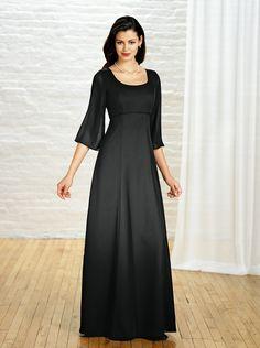 WOMEN'S FORMAL Choir Dresses, Concert Dresses, Choir Uniforms, Uniform Dress, Gowns With Sleeves, Modest Fashion, Women's Fashion, Dress Outfits, Beautiful Clothes