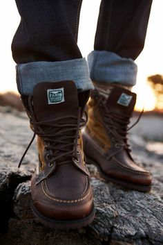 Classy Leather Winter Boots for Men