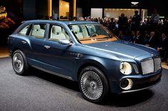 Bentley EXP 9 F SUV.
