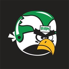 Philadelphia Eagles Angry Bird