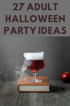 27 Spooktacular Halloween Party Ideas for Adults Haloween Party, Halloween Food For Party, Halloween Diy, Halloween Night, Halloween Drinking Games, Halloween Games Adults, Halloween Designs, Party Food For Adults, Partys