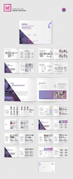Word Documentation Cover Page Template  SponsorshipProposal