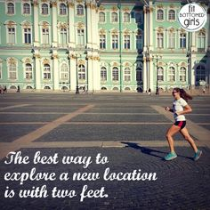 Visiting a new city? Try a running tour! | Fit Bottomed Girls