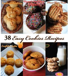 YUMMY TUMMY: 38 Easy Cookies Recipes - Eggless Cookies & Biscuit Recipes