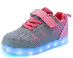sale retailer f1e28 4db98 Kids LED Light Up Shoes   Glow Sneakers, Boots   Sandals