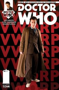 Doctor Who: Tenth Doctor #5, The Arts in Space – Part Two, picks up with The Doctor and Gabby up to their ears in trouble.