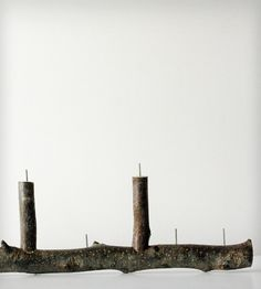 The MANorah Rustic Twig & Steel Candle Holder | Home Decor | Frick and Frack Scraps | Scoutmob Shoppe | Product Detail