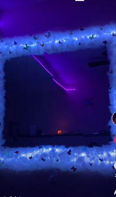 Cloud Bedroom, Neon Bedroom, Cute Bedroom Decor, Cute Bedroom Ideas, Room Design Bedroom, Room Ideas Bedroom, Bedroom Inspo, Dream Bedroom, Cool Bedrooms For Teen Girls