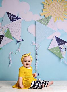 Kites by PepperLu on Etsy, $69.99