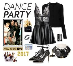 """""""Dance Party"""" by bwag18 ❤ liked on Polyvore featuring Maison Margiela, Morgan Lane, Boohoo, Betsey Johnson, Prodyne, Marc Jacobs and Anastasia Beverly Hills"""