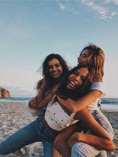 Girls, friendship, and summer image Best Friend Pictures, Bff Pictures, Friend Pics, Squad Pictures, Beach Pictures, Insta Pictures, Cute Friend Photos, Bff Pics, Teen Pics