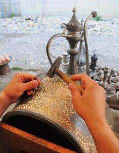 Copper hammering, Turkey