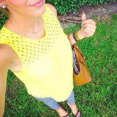 We love this summery outfit worn by @morganullmann!