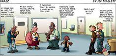 Frazz Comic Strip, Zucchini Bread