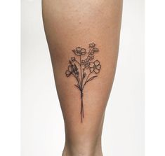 50 Small & Delicate Floral Tattoo Information & Ideas - Brighter Craft - 50 Small and Delicate Floral Tattoo Ideas – Brighter Craft - Dainty Tattoos, Subtle Tattoos, Mini Tattoos, Small Tattoos, Cool Tattoos, Tatoos, Medium Tattoos, Delicate Tattoos For Women, Key Tattoos