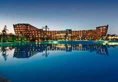 Seven nights in a ship-shaped five-star beach hotel in North Cyprus, with casino and decadent spa - includes full board, flights and transfers