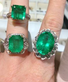 Emeralds and Diamonds