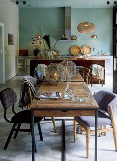 Kitchen - Keuken - Livingroom - Interior - Home - Interieur - RIVIÈRA MAISON Fresco Bay stoel