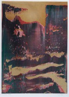 Gerhard Richter - Oil on Paper